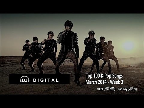 KPOP - Here's my top 100 K-Pop Songs chart for March 2014 Week 3 (week ending March 22, 2014). Based on my personal preferences with some influence from the weekly ...