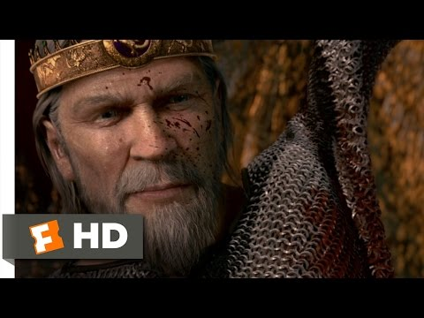 Beowulf (10/10) Movie CLIP - Slaying the Dragon (2007) HD
