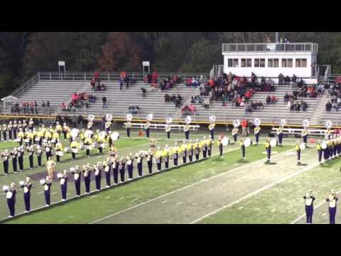 Jackson High School Marching Band Pre game 10-16-15