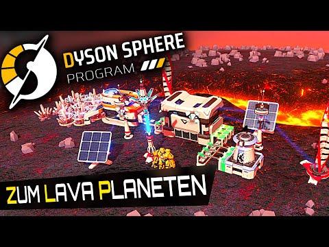 Zum LAVA PLANETEN in Dyson Sphere Program Deutsch German Gameplay 8
