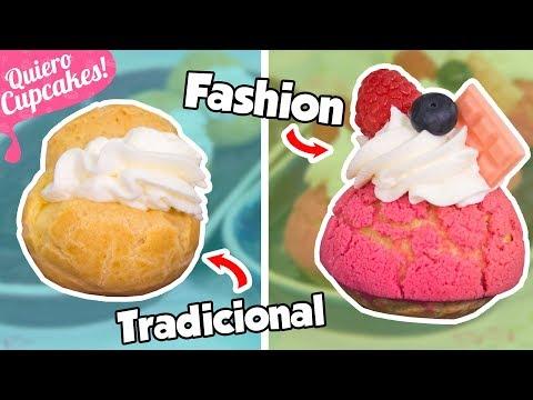 PROFITEROLES CON EXPERIMENTO | PROBANDO NUEVAS TÉCNICAS | Quiero Cupcakes!