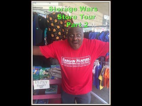 Kenny Crossley Storage Wars visiting Bargain Hunters Thrift Store Part 2 Rene