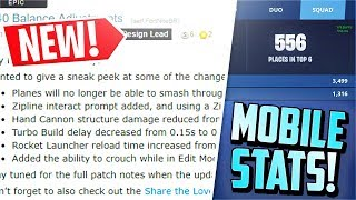 *NEW* 7.40 RELEASE / Mobile Stats / THREE Items Nerfed (Patch Notes)