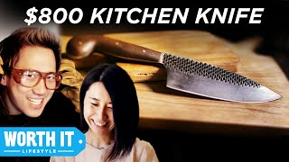 Video $8 Kitchen Knife Vs. $800 Kitchen Knife MP3, 3GP, MP4, WEBM, AVI, FLV Agustus 2019