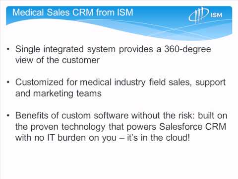 sfdcMktg - Medical Device Sales CRM combines detailed physician and account management, territory routing, call planning and scheduling, and fast call reporting with vi...