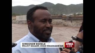 Ethiopian Dam Under Rapid Construction