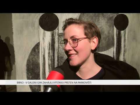 TV Brno 1: 10.1.2017 V Galerii G99 zahájili výstavu Prsten na parkovišti.