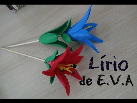 Lírio de EVA