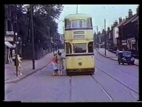 Tram Ride Beauchief To City Centre 1960