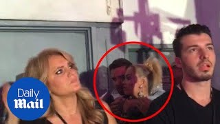 Rita Ora and Liam Payne get up close and personal at show
