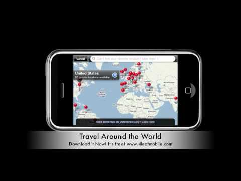 Travel Around the World iPhone Application