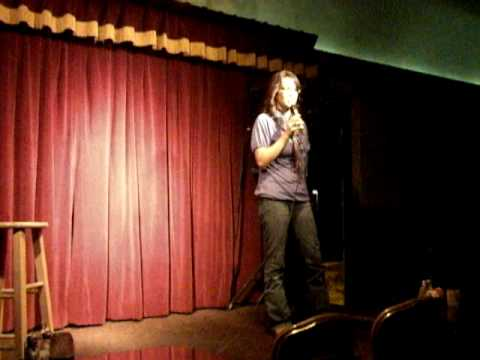 Michelle's stand up at the comedy palace