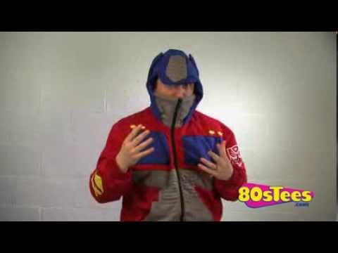 Optimus Prime Costume Hoodie Video