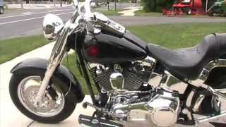9. 2005 Harley Davidson FATBOY Extreme Custom Bike For Sale