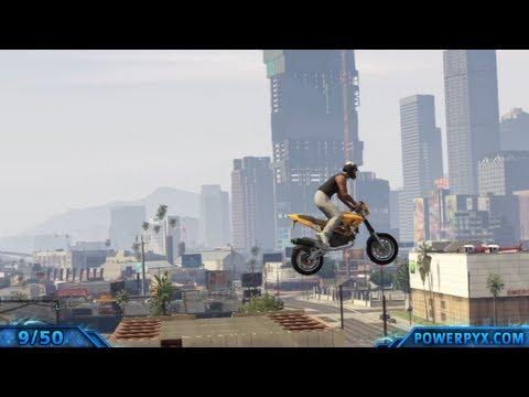 GTAV - All Monster Stunt Jump Locations