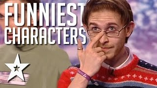 Download Video Funniest Characters Auditions Around The World On Got Talent MP3 3GP MP4