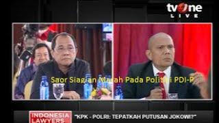 """Video ILC """"Putusan Jokowi KPK-Polri"""": Saor Siagian Marah Hingga Teriak Pada Anggota DPR Akbar Faizal MP3, 3GP, MP4, WEBM, AVI, FLV Desember 2018"""