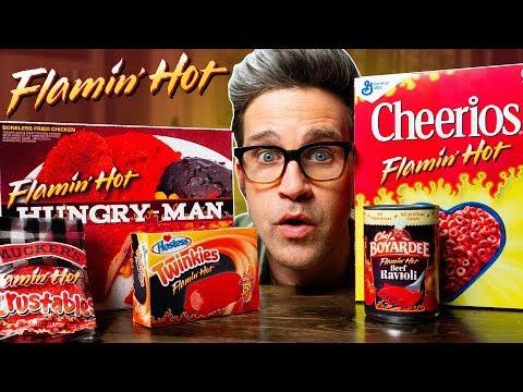 Flamin' Hot Snacks Taste Test