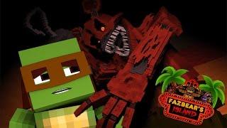 NIGHTMARE FREDBEAR ATTACK!? (Fnaf Island #5)