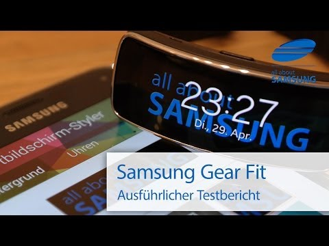 Samsung Gear Fit Review Test deutsch HD