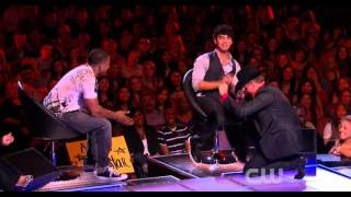 The Next - Joe Jonas, Nelly and John Rich comment on Skycrapper
