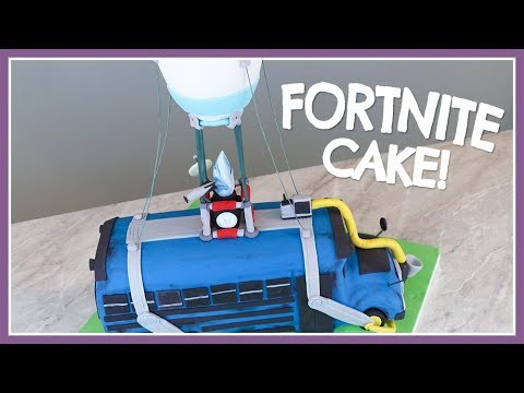 Fortnite Battle Bus Cake | Renee Conner