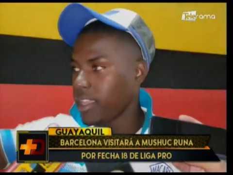 Barcelona visitará a Mushuc Runa por fecha 18 de Liga Pro