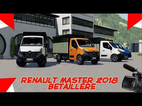 Renault Master Betaillere de 2018 v1.0