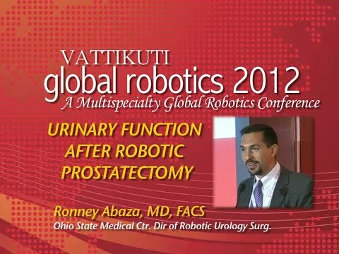 Urinary Function After Robotic Prostatectomy