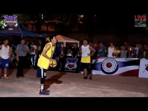 Chiang Mai Basketball Club l STREET BASKETBALL 3x3 2017 (30 เม.ย 2560) (PART2)