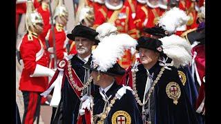 Ceremonia de Investidura de Su Majestad el Rey como Caballero de la Muy Noble Orden de la Jarretera