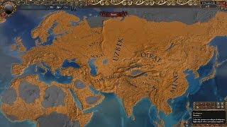 EU4 Timelapse: Flat Development and No Lucky Nations