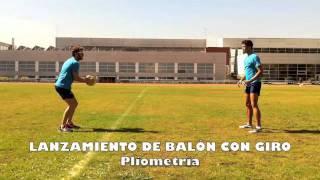 Lanzamientos con Giro con Balón medicinal