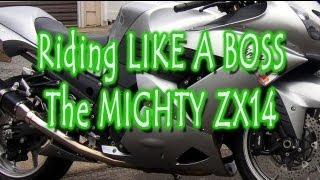 8. Riding Like A Boss -- Trying out a Kawasaki ZX14