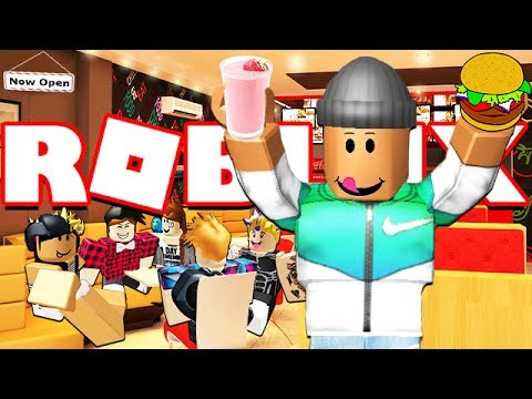 BUILDING MY OWN ROBLOX RESTAURANT