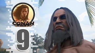 Northwards! - EP09 - CONAN EXILES (Removing The Bracelet)