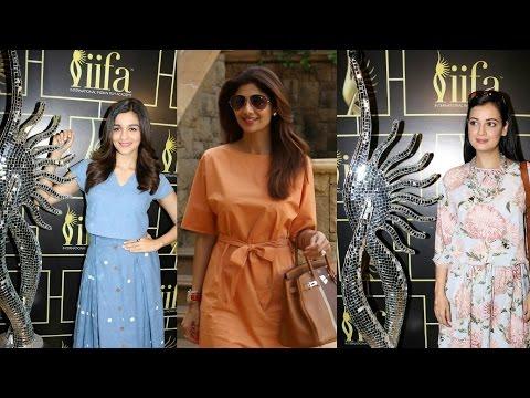Alia Bhatt | Shilpa Shetty | Dia Mirza IIFA Voting Weekend 2017