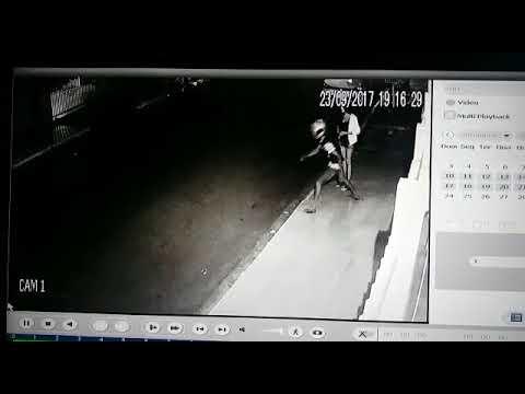 Câmera de segurança registra assalto na 7ª Avenida, em Mineiros (GO)