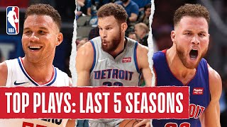 Blake Griffin's TOP PLAYS | Last 5 Seasons by NBA