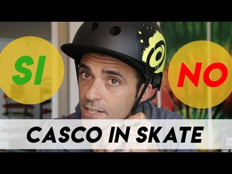Protezioni skate: Casco skate SI o NO?