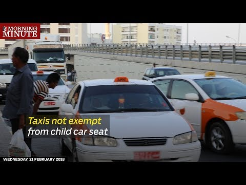 Taxis not exempt from child car seat