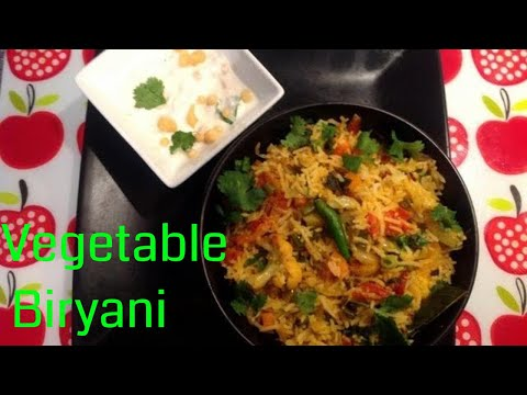 Vegetable biryani - How to cook vegetable biryani in tamil
