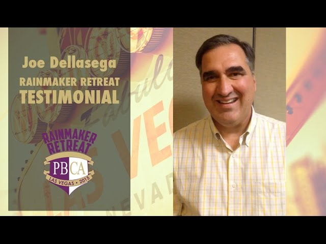 Rainmaker Retreat 2015 - Joe Dellasega
