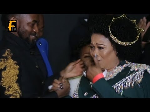 Sola Sobowale Was So Emotional And Broke In Tears At King Of Boys Movie  Premiere