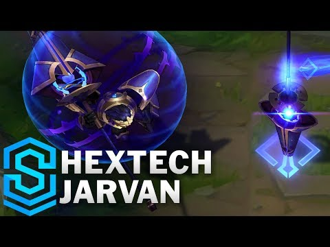 Jarvan Công Nghệ - Hextech Jarvan