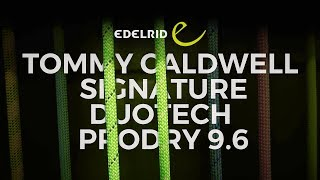 Edelrid Tommy Caldwell Signature 9.6mm climbing rope by WeighMyRack
