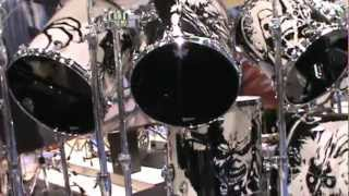 beautiful drum set for Maiden.