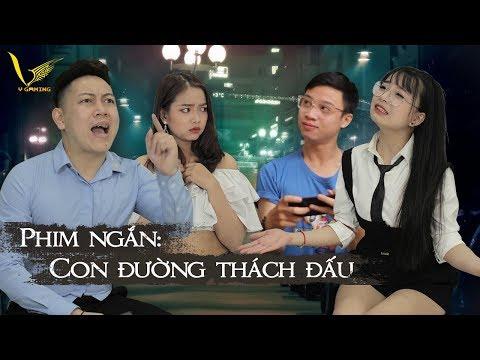 Phim Ngắn : Con Đường Thách Đấu | Msuong, Mèo 2k4 , Trần Phương Nam , Hani . - Thời lượng: 8 phút, 24 giây.