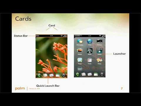 Webcast de Mitch Allen sobre el desarrollo de aplicaciones para la Palm Pre