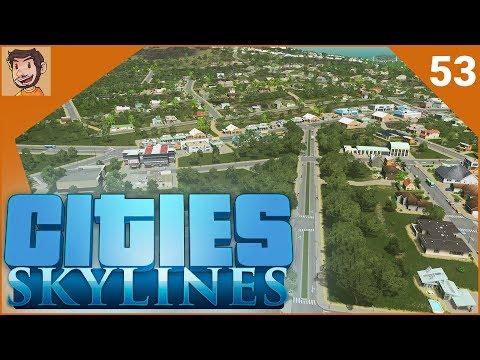 Cities: Skylines - Part 53 | FULL MOUNTAINSIDE (видео)